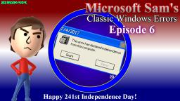 Microsoft Sams Classic Windows Errors (Episode 6)