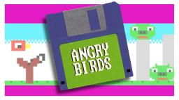 If Angry Birds were an 80s home computer game...
